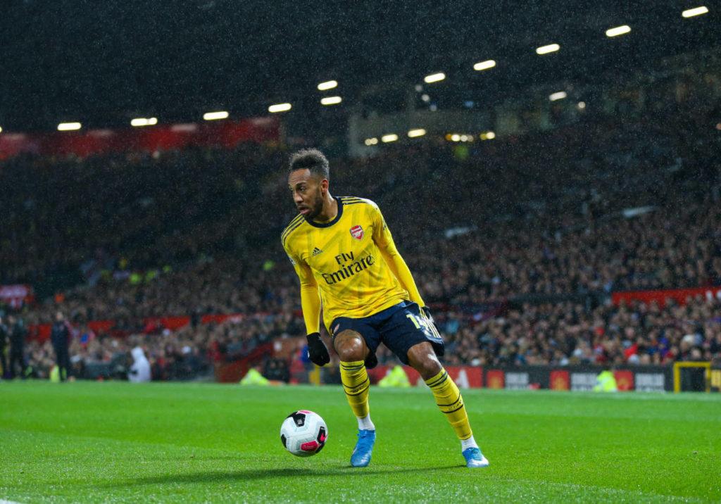 Pierre-Emerick Aubameyang spielt mit dem FC Arsenal nur in der Europa League