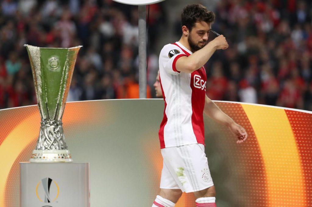 Kein schöner Abgang bei Ajax Amsterdam: Amin Younes verlor nicht nur das Europa-League-Finale 2017 in Stockholm...