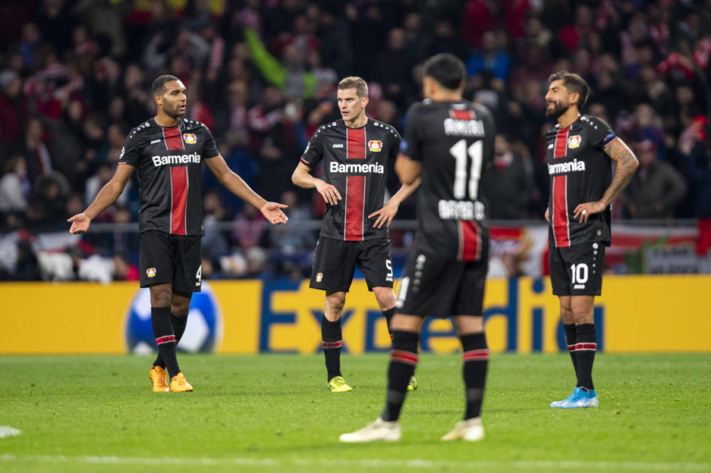 Bayer Leverkusen in der Champions League 2019/2020: Die pure Ratlosigkeit.
