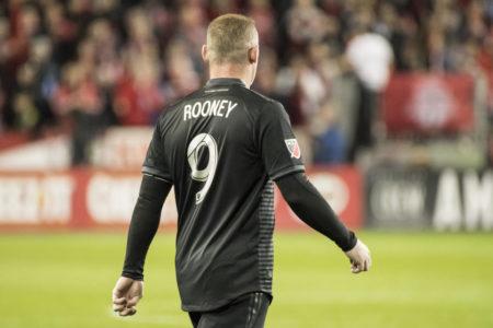 Stiller Abgang: Wayne Rooney in seinem letzten Spiel für D. C. United am 19. Oktober 2019 in Toronto.