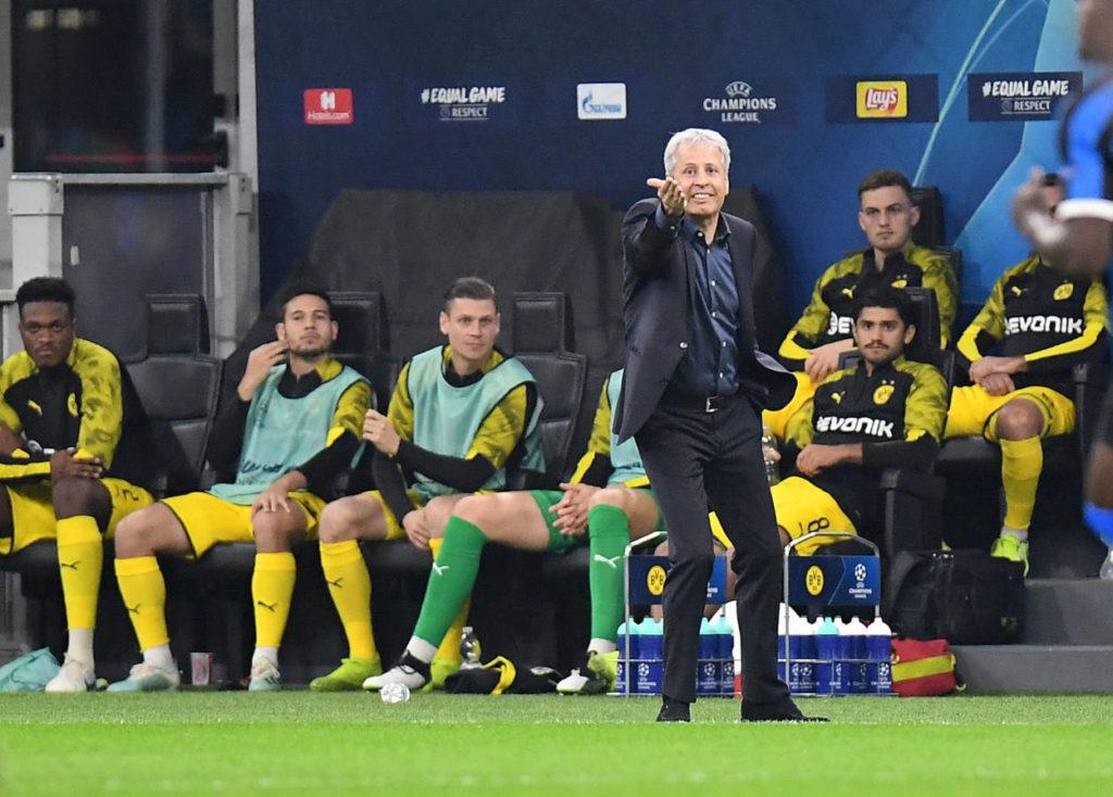 Lucien Favre steht nach dem 0:2 bei Inter Mailand (Foto) bei Borussia Dortmund enorm unter Druck...