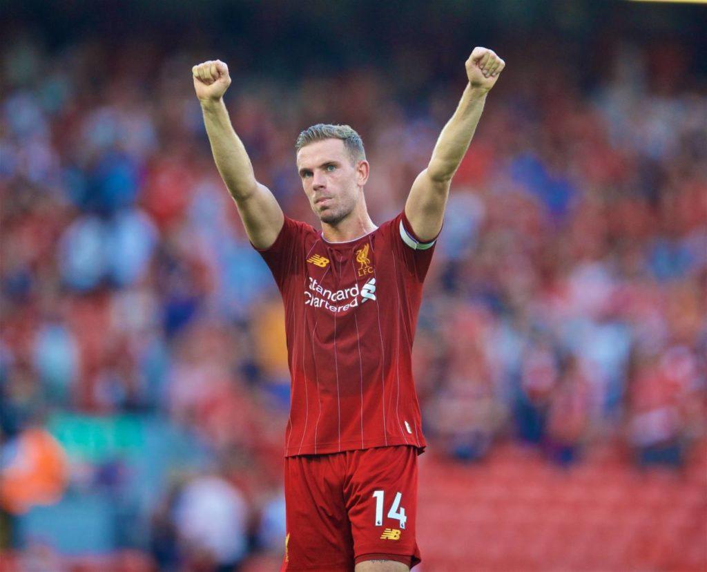 Jordan Henderson gives Liverpool huge injury boost