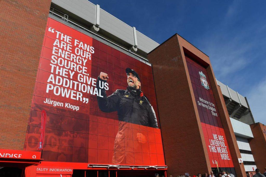 Jürgen Klopp und seine Sprüche sind in Anfield omnipräsent.