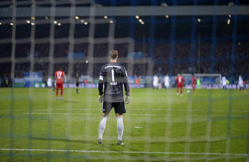 """Der FC Bayern kam beim VfL Bochum laut Manuel Neuer ,,mit einer Schramme"""" davon."""