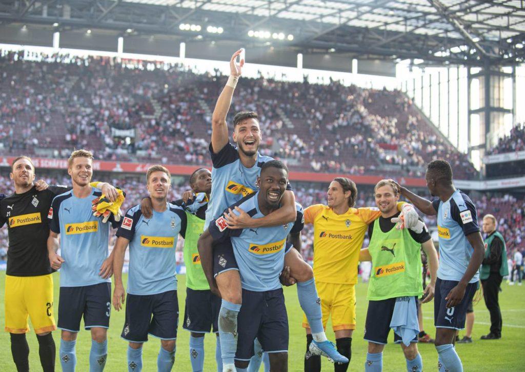Borussia Mönchengladbach gewann auch das rheinische Derby beim 1. FC Köln.