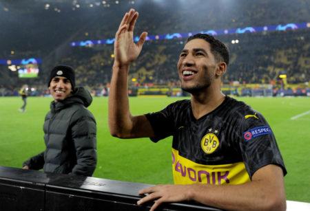 Achraf Hakimi führte Borussia Dortmund mit 2 Toren zum 3:2-Erfolg gegen Inter Mailand.