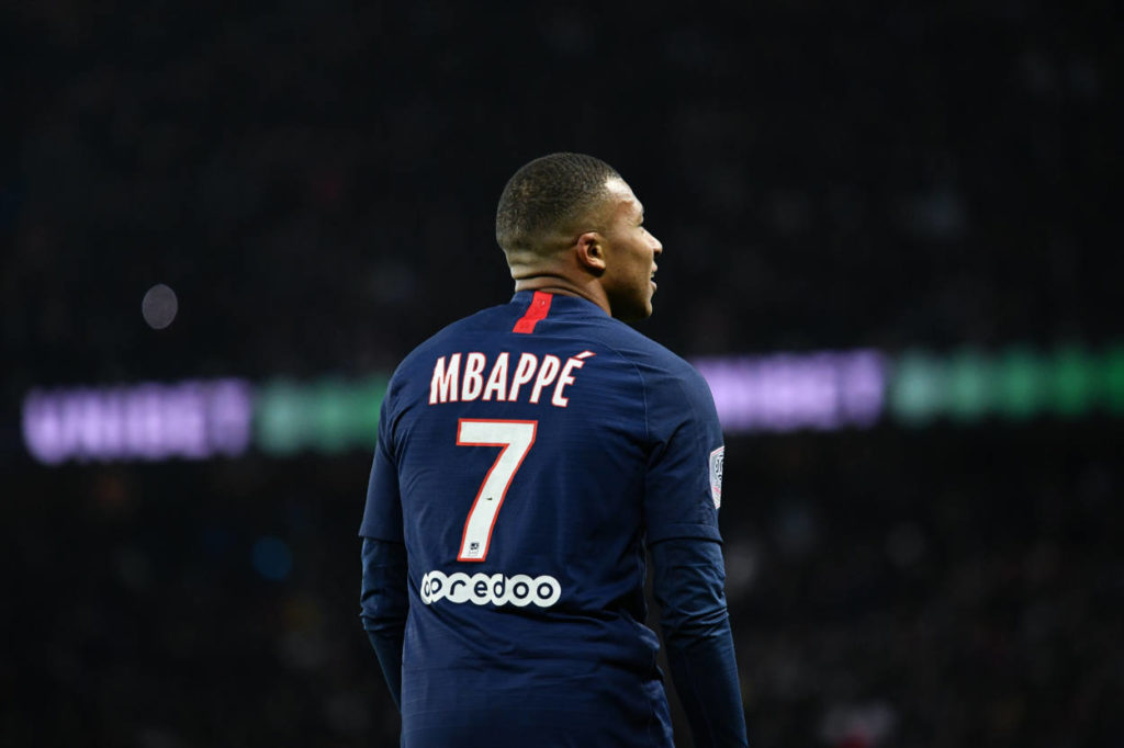 Kylian Mbappe is reportedly a transfer target of Real Madrid