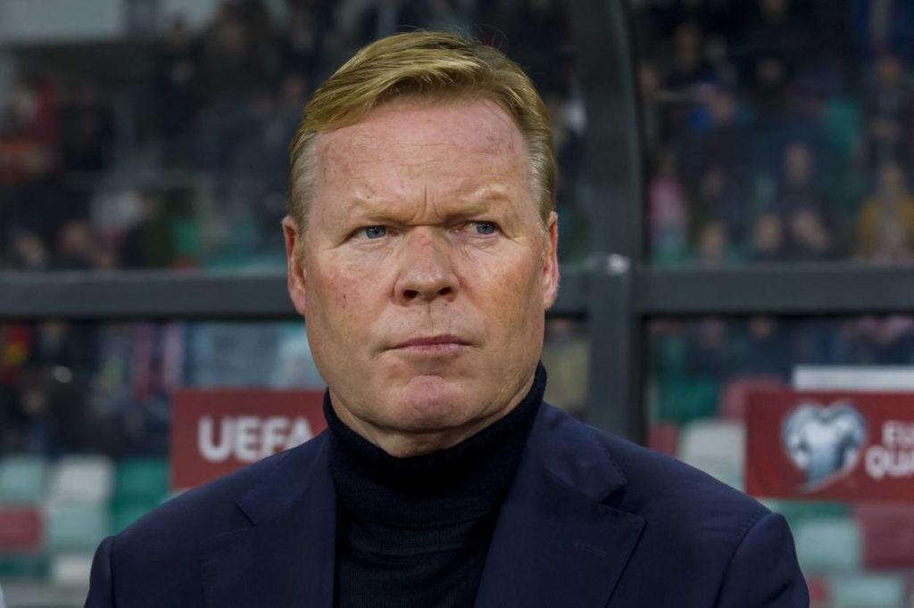 Koeman draws blacklist at Barca