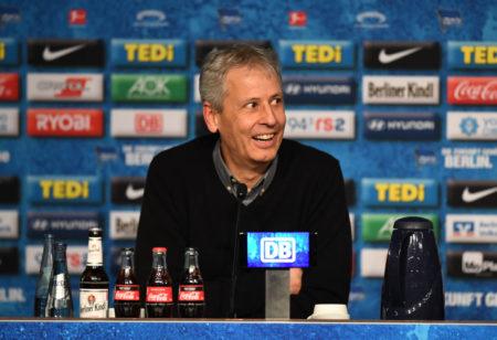 Hertha BSC BVB Lucien Favre