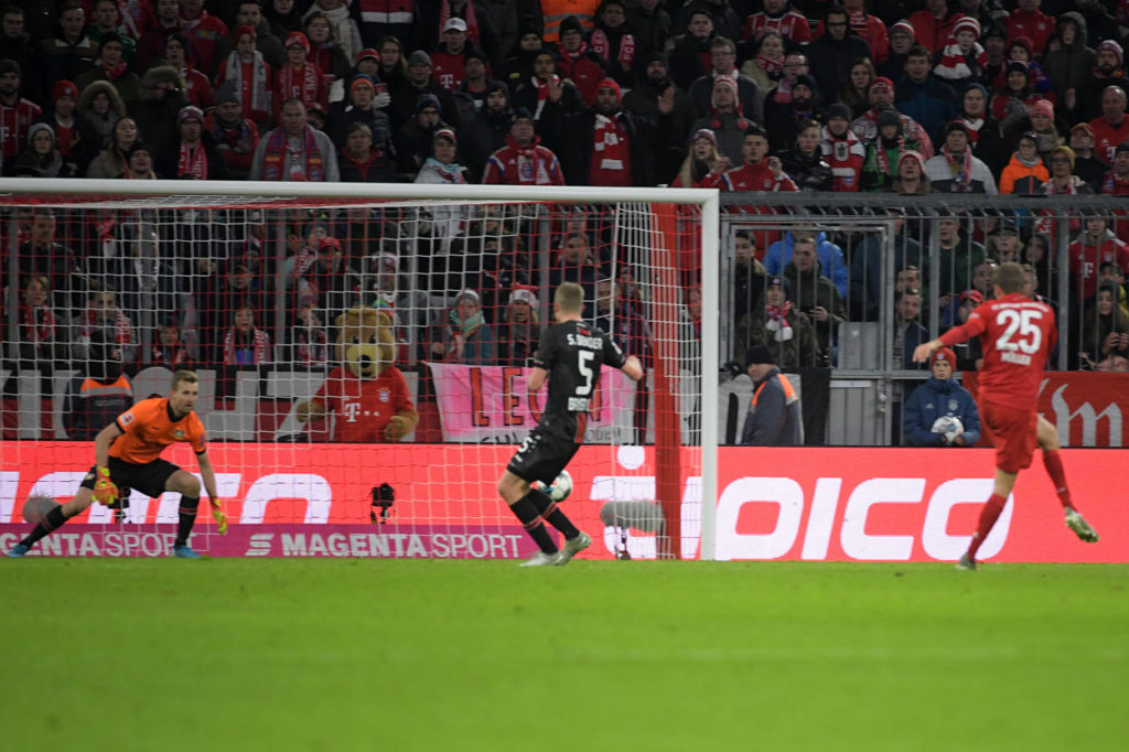 FC Bayern Bayer Leverkusen Thomas Müller