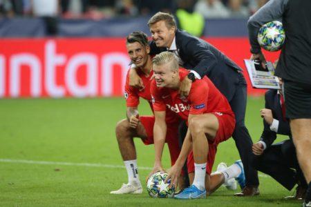 Erling Braut Haaland Jesse Marsch RB Salzburg