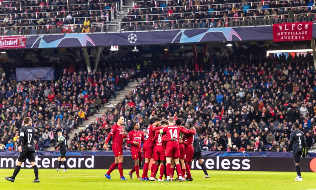 RB Salzburg FC Liverpool
