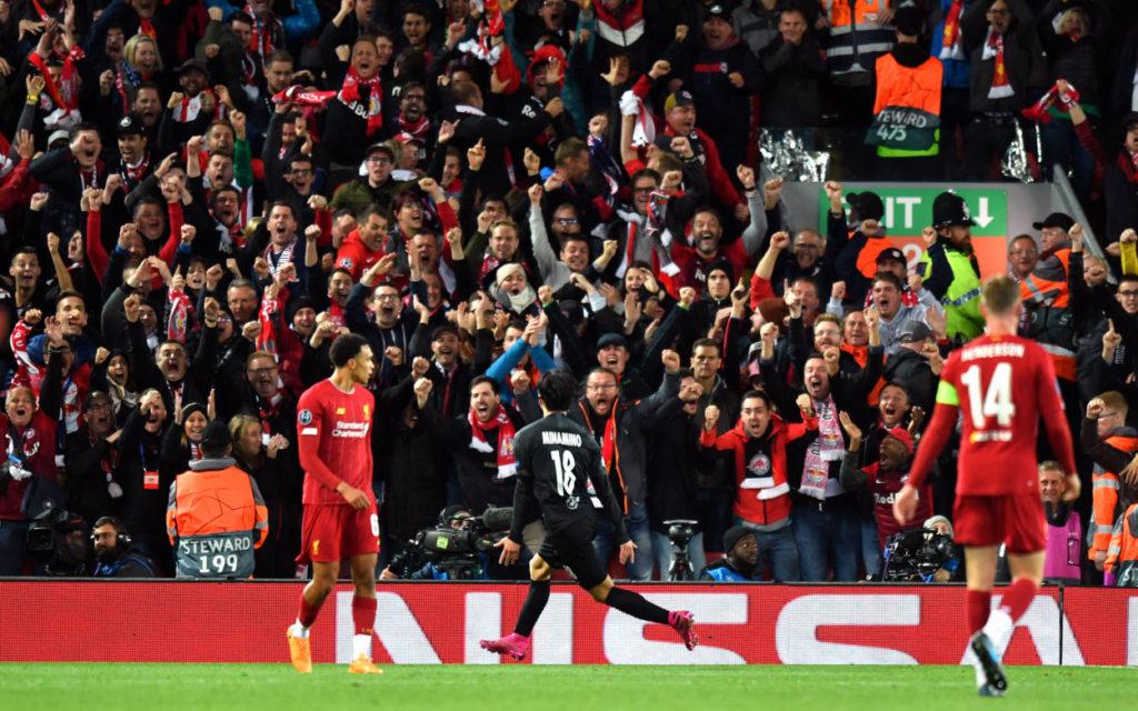 Takumi Minamino FC Liverpool RB Salzburg