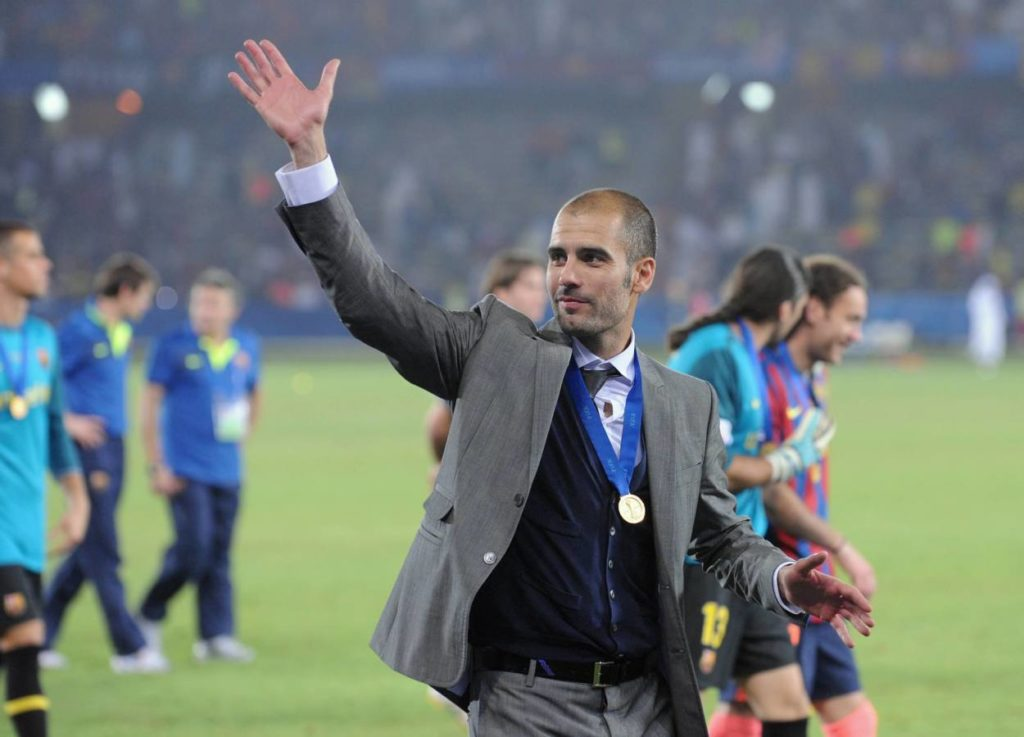 Pep Guardiola is still the most successful FC Barcelona manager in the history of the club.