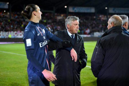 Zlatan Ibrahimovic Carlo Ancelotti