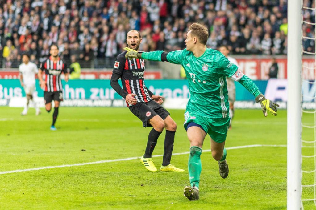 Manuel Neuer Eintracht Frankfurt