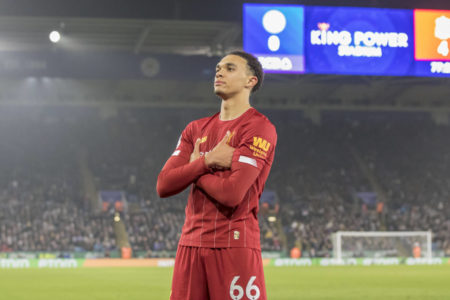 Leicester Liverpool Alexander-Arnold