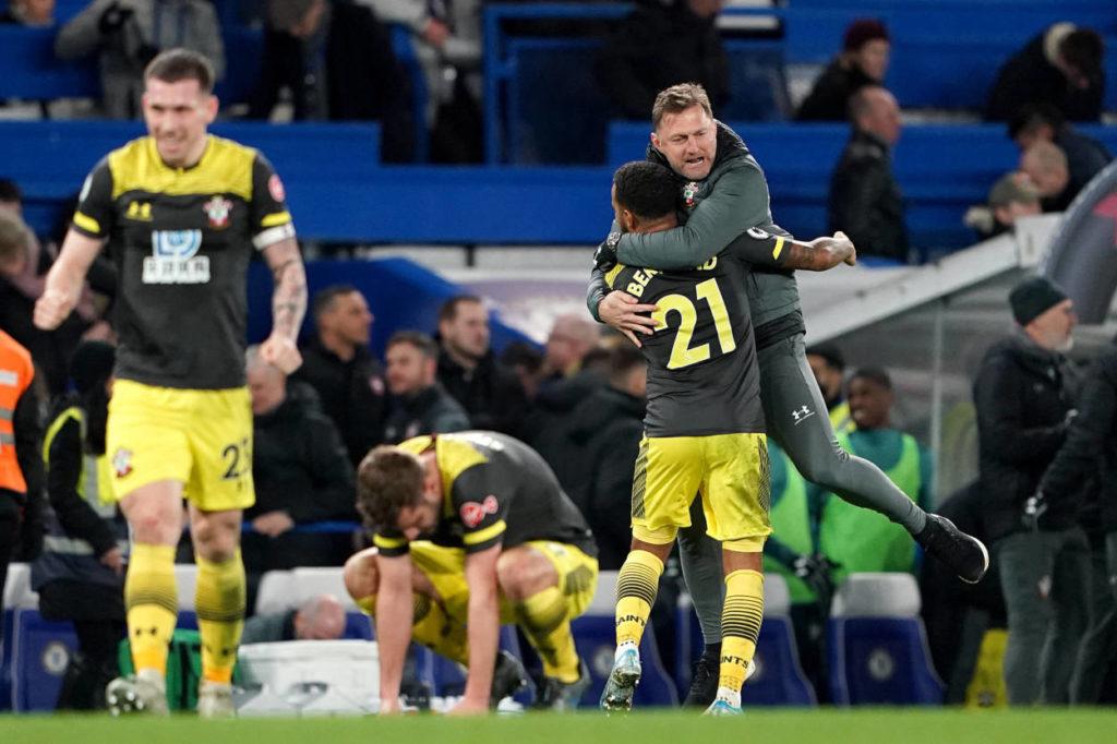 Ralph Hasenhüttl FC Chelsea - FC Southampton 0:2