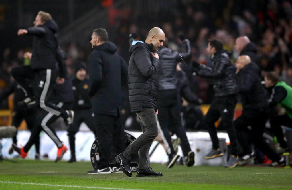 Wolverhampton Wanderers Manchester City Pep Guardiola