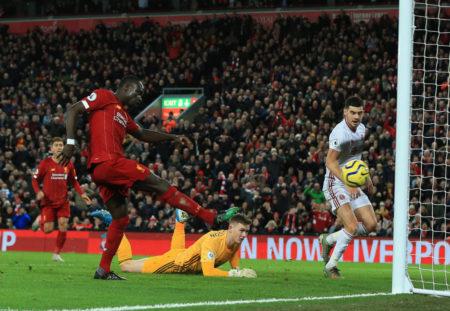 Sadio Mané FC Liverpool Sheffield United