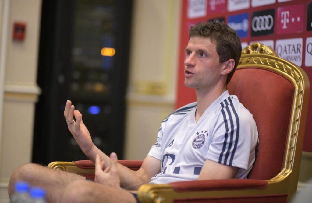 Thomas Müller FC Bayern Katar