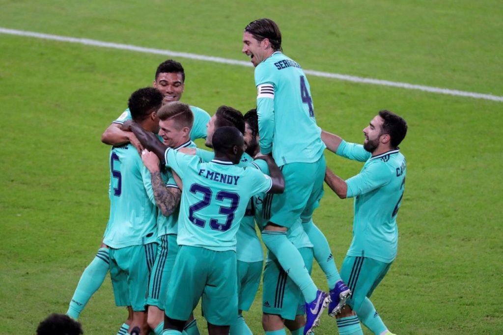 Toni Kroos Real Madrid Supercup
