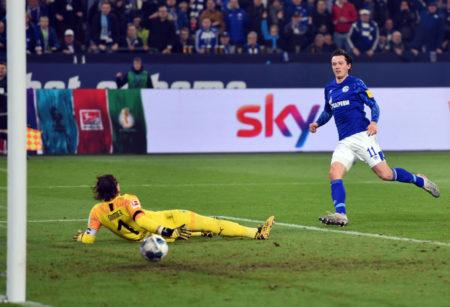 Michael Gregoritsch FC Schalke 04 - Borussia Mönchengladbach 2:0