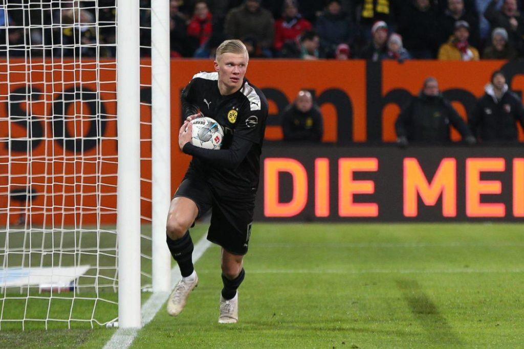 Erling Braut Haaland FC Augsburg - Borussia Dortmund 3:5