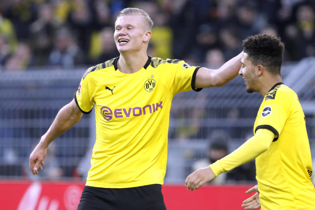 Erling Braut Haaland Jadon Sancho Borussia Dortmund
