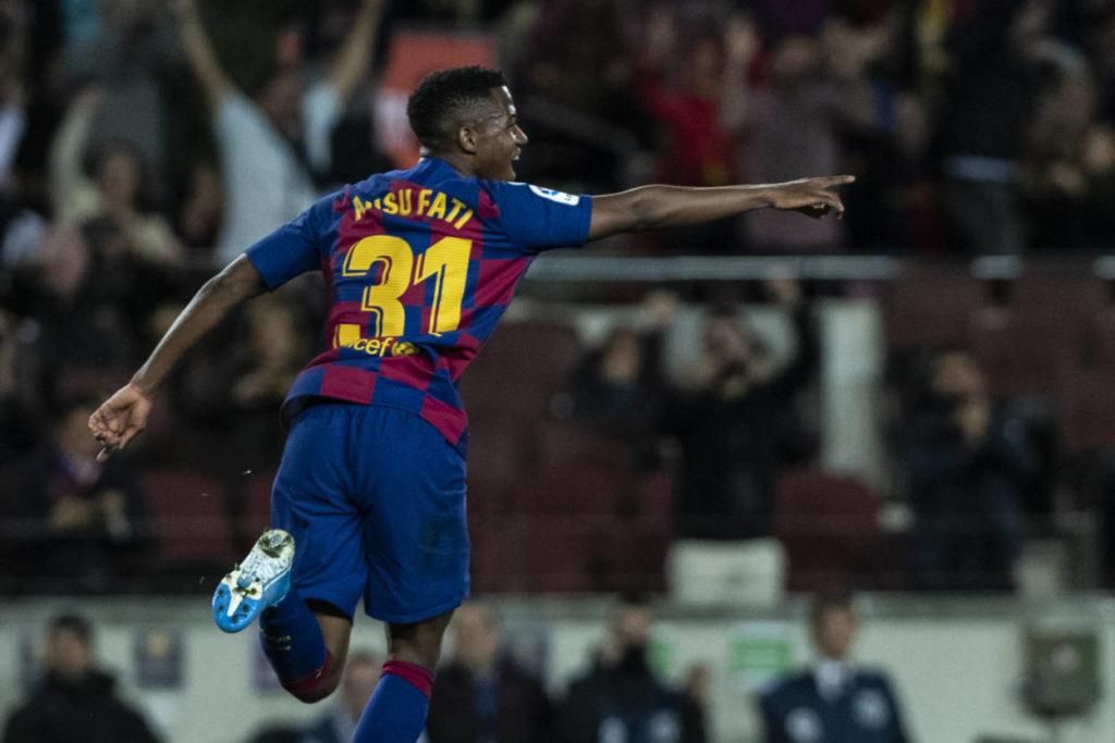 Barca set eye-watering Ansu Fati release clause