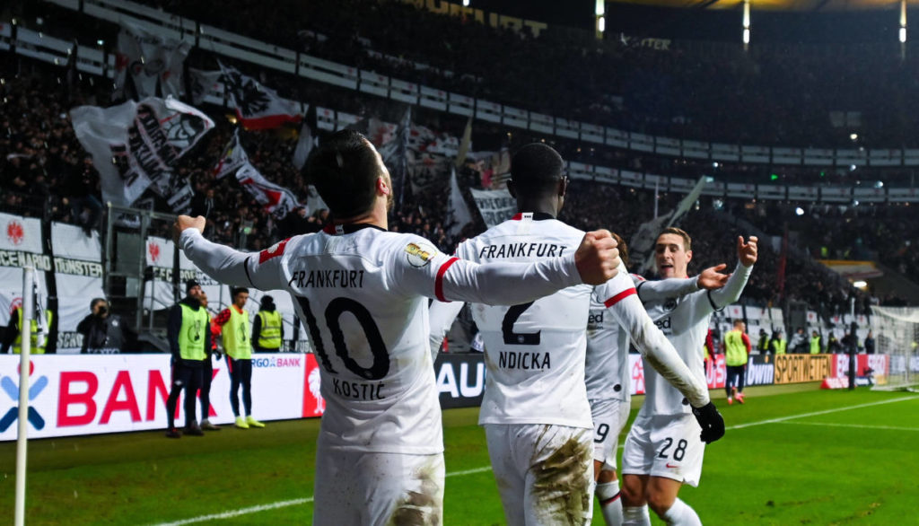 Eintracht Frankfurt - RB Leipzig 3:1