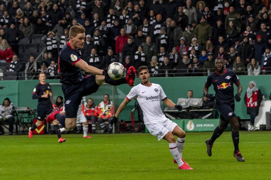 Marcel Halstenberg Eintracht Frankfurt - RB Leipzig 3:1