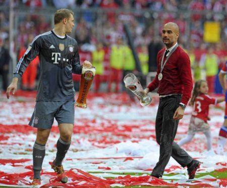 Manuel Neuer Pep Guardiola