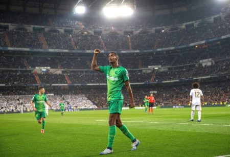 Alexander Isak Real Madrid - Real Sociedad San Sebastian 3:4