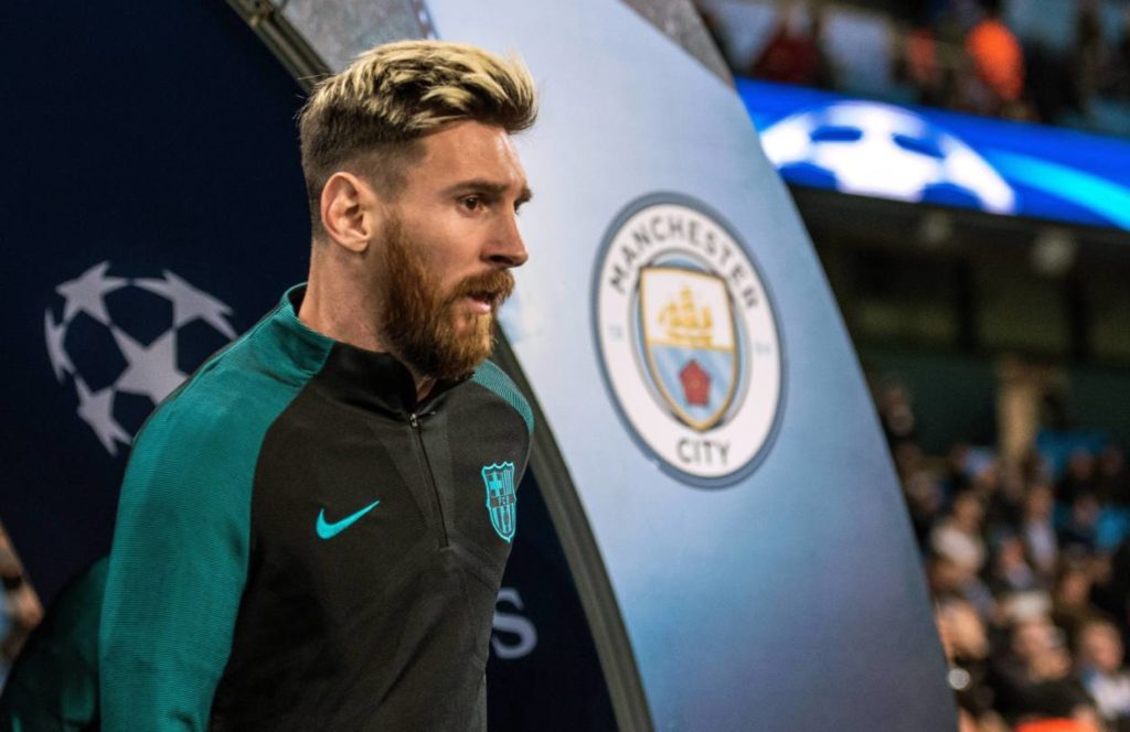 Lionel Messi Manchester City Transfer