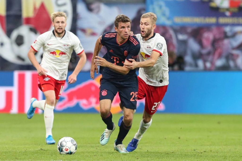 Thomas Müller FC Bayern RB Leipzig