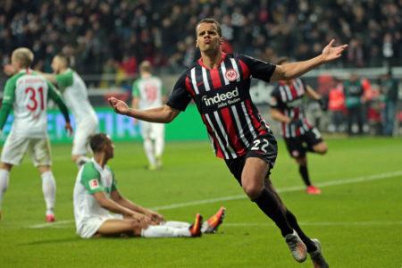 Timothy Chandler Eintracht Frankfurt - FC Augsburg 5:0