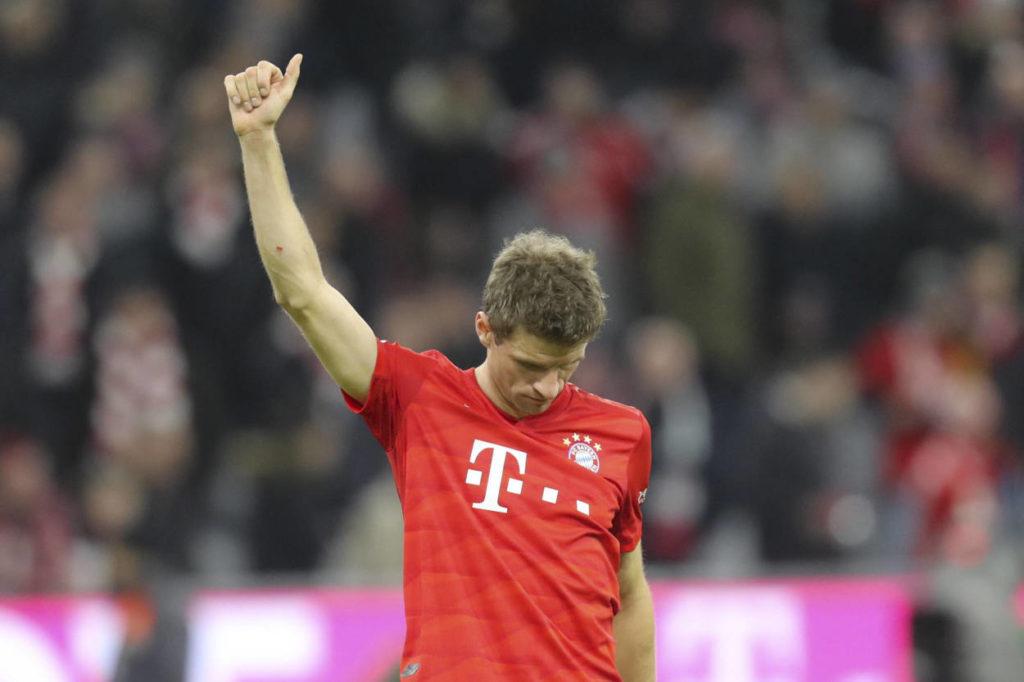 Thomas Müller FC Bayern München - RB Leipzig 0:0