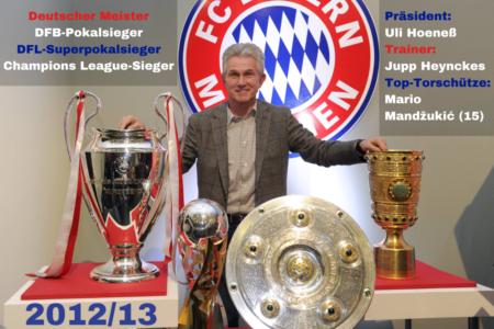 2012/13 - Die Triple Bayern.
