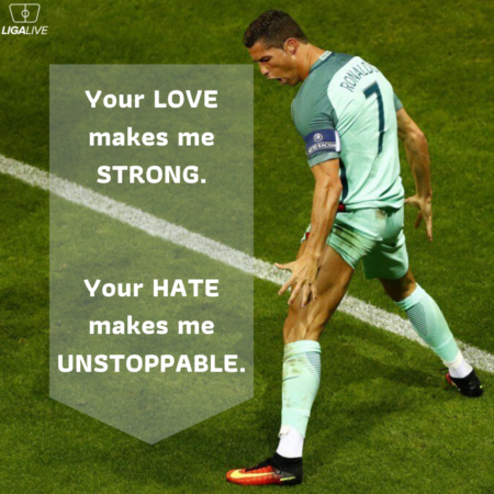 Crisitano Ronaldo quote motivational