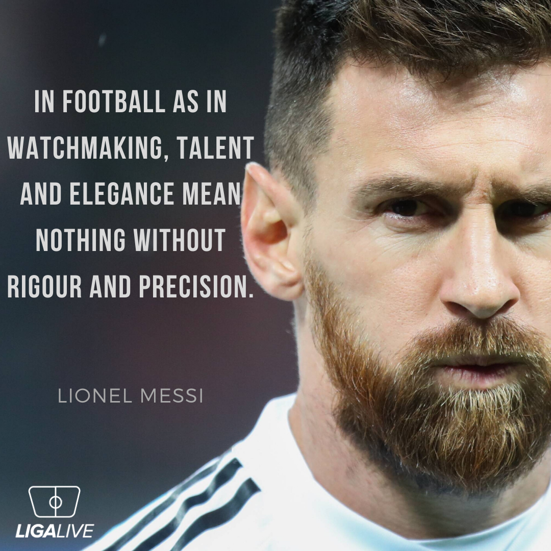 Lionel Messi Quote