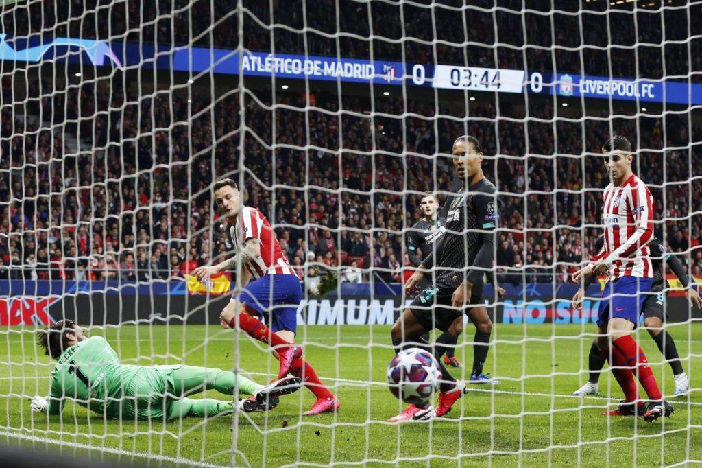 Atlético Madrid - FC Liverpool 1:0