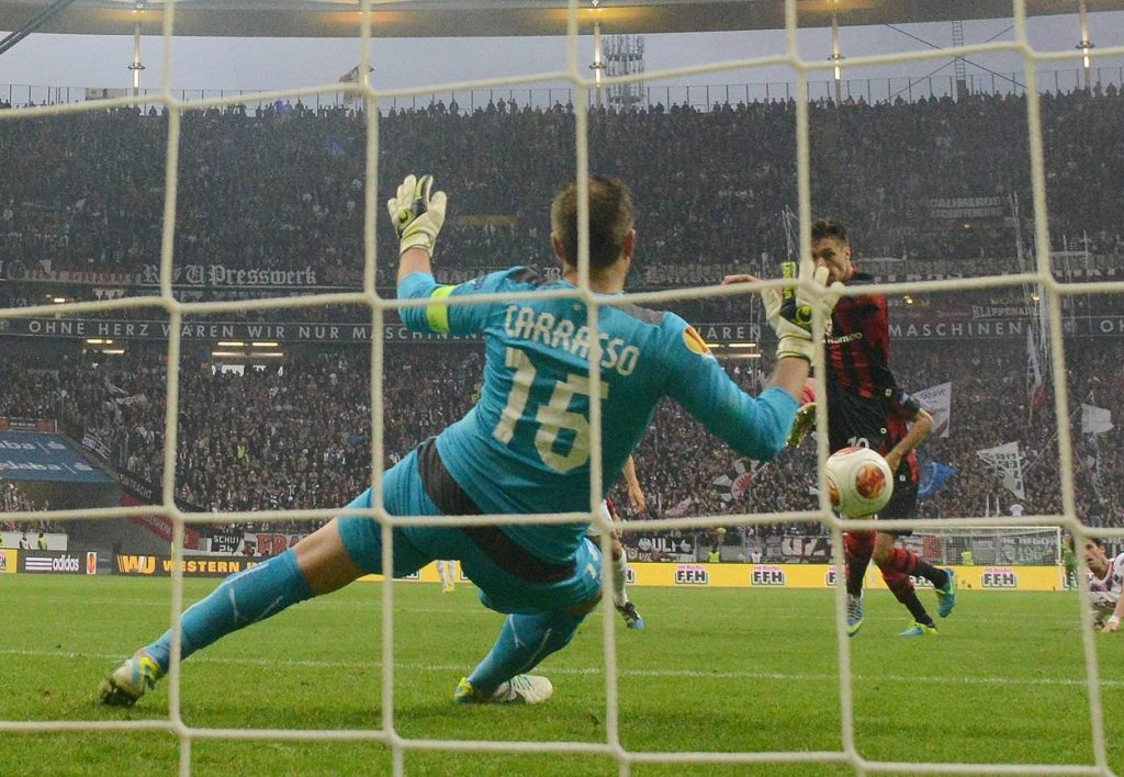 Vaclav Kadlec Eintracht Frankfurt Europa League 2013/2014