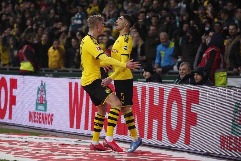 Werder Bremen - Borussia Dortmund 0:2