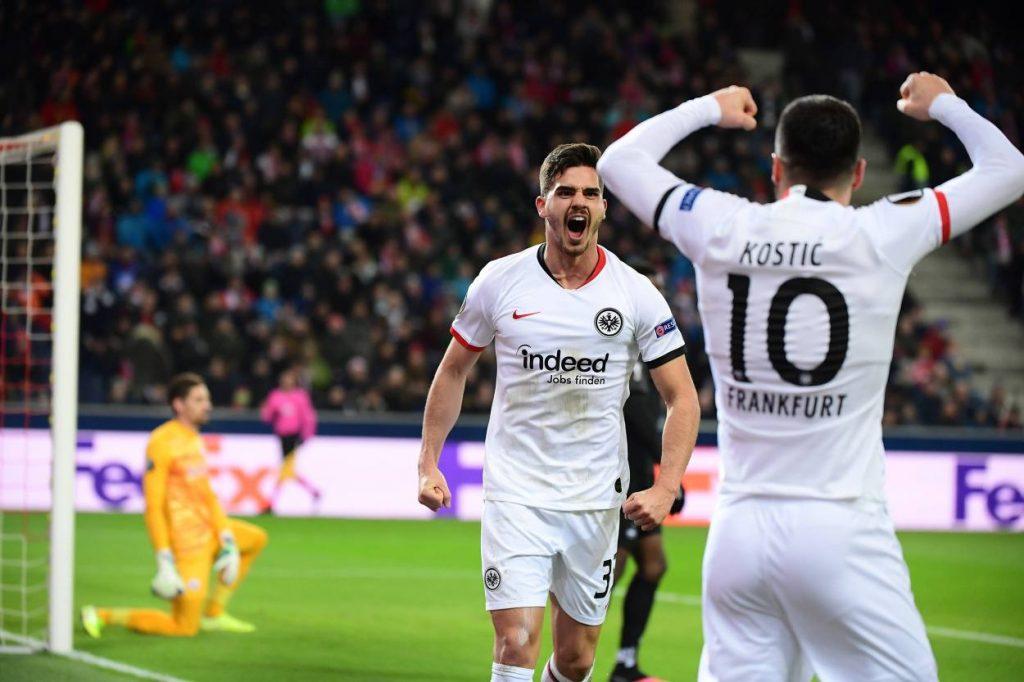 Silva, Frankfurt, Eintracht