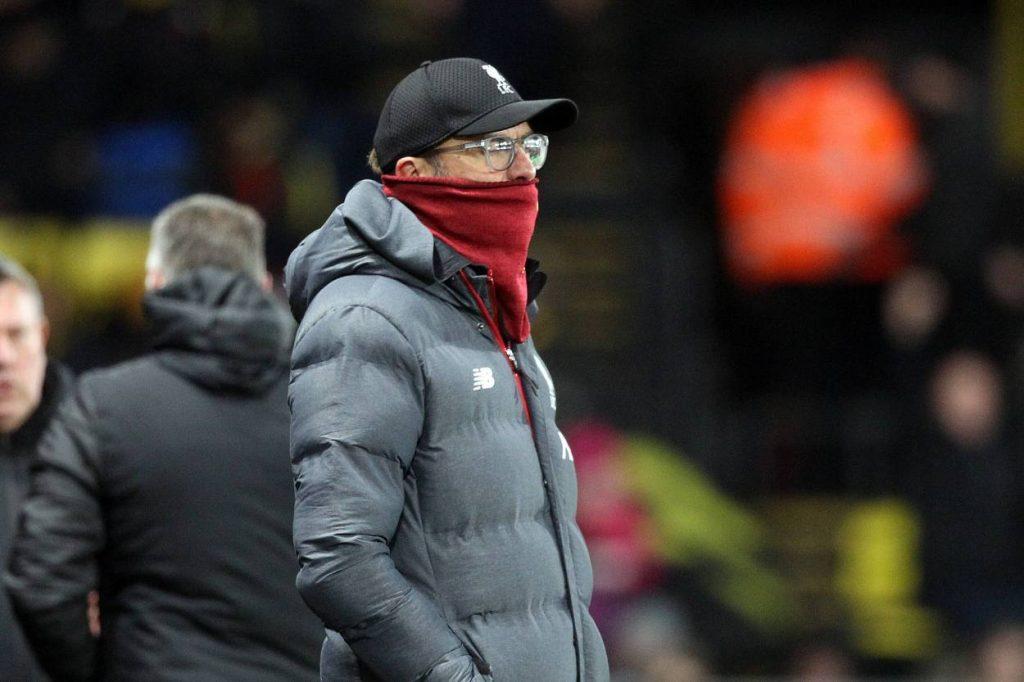 Jürgen Klopp FC Watford - FC Liverpool 3:0