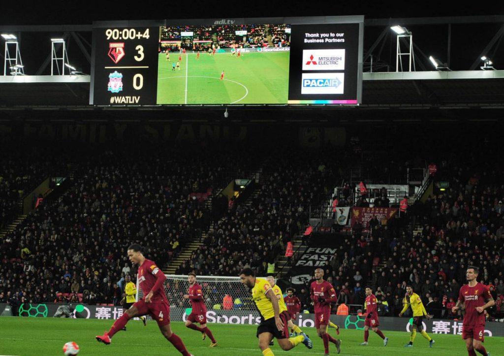 FC Watford - FC Liverpool 3:0