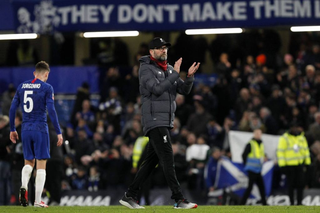 Jürgen Klopp FC Chelsea - FC Liverpool 2:0
