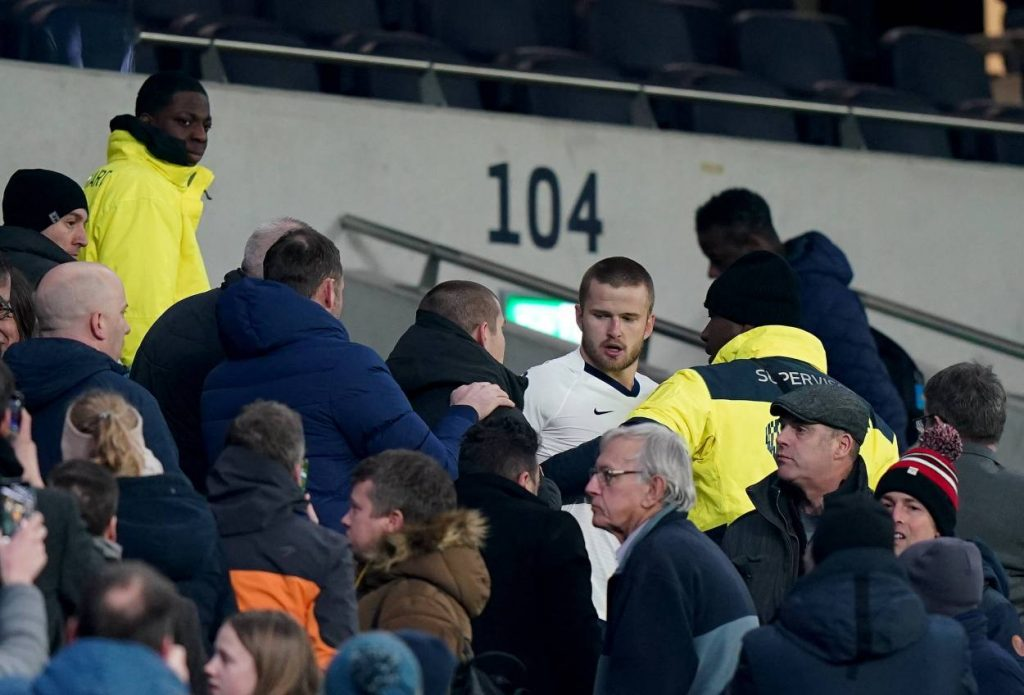 Why Eric Dier went into the stands after Tottenham's FA Cup defeat to Norwich City
