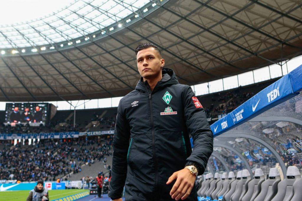 Davie Selke Hertha BSC - Werder Bremen 2:2